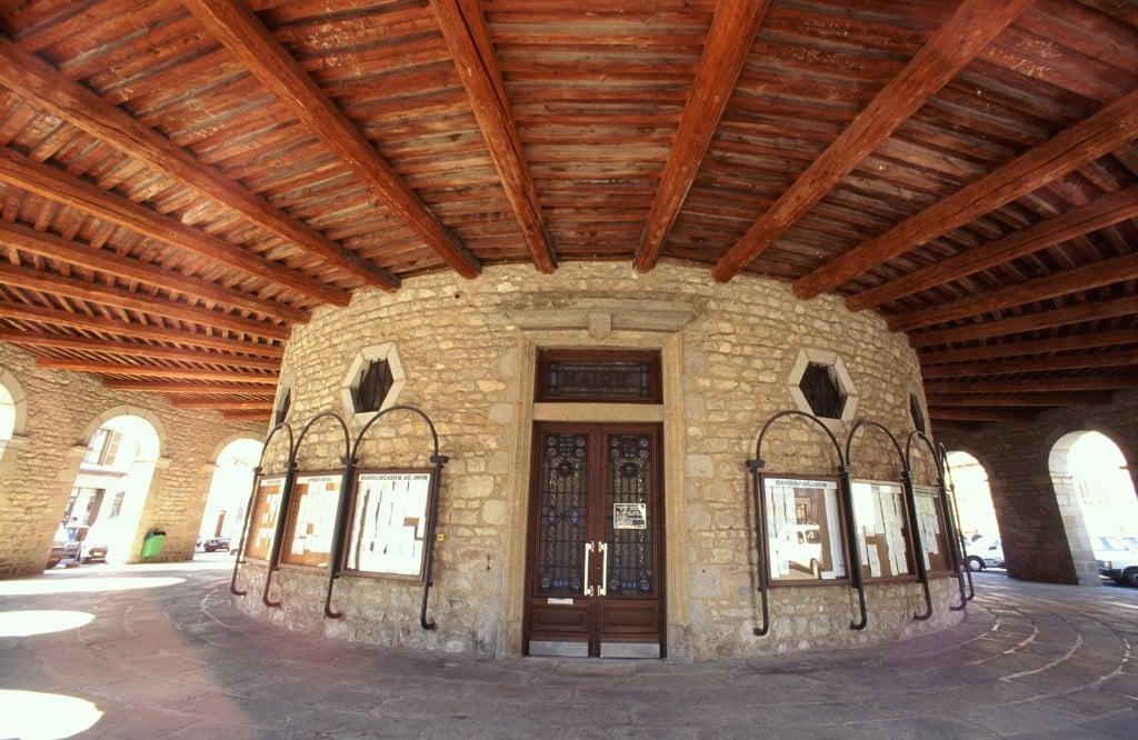 Les halles de la Mairie d'Ambert