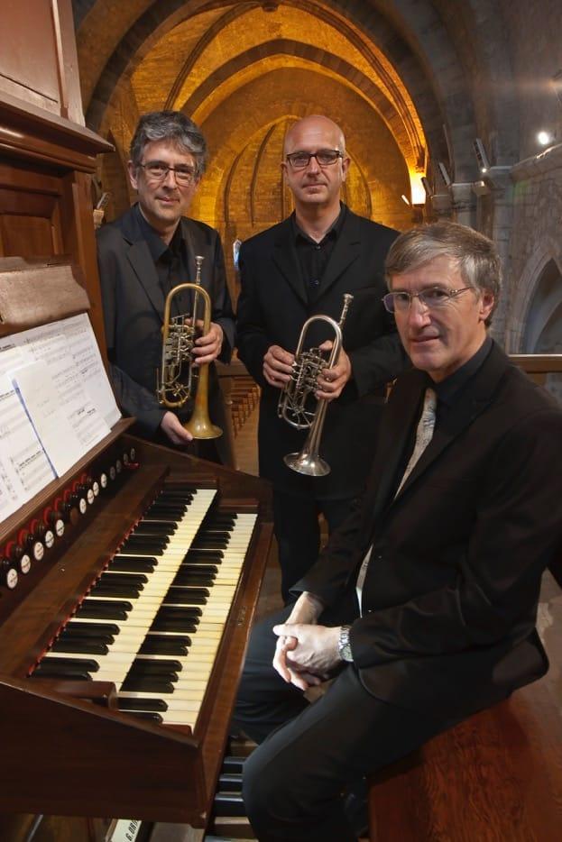 Photo du trio : François Clément, Gilles Mercier et Jean-Marie Cousinié