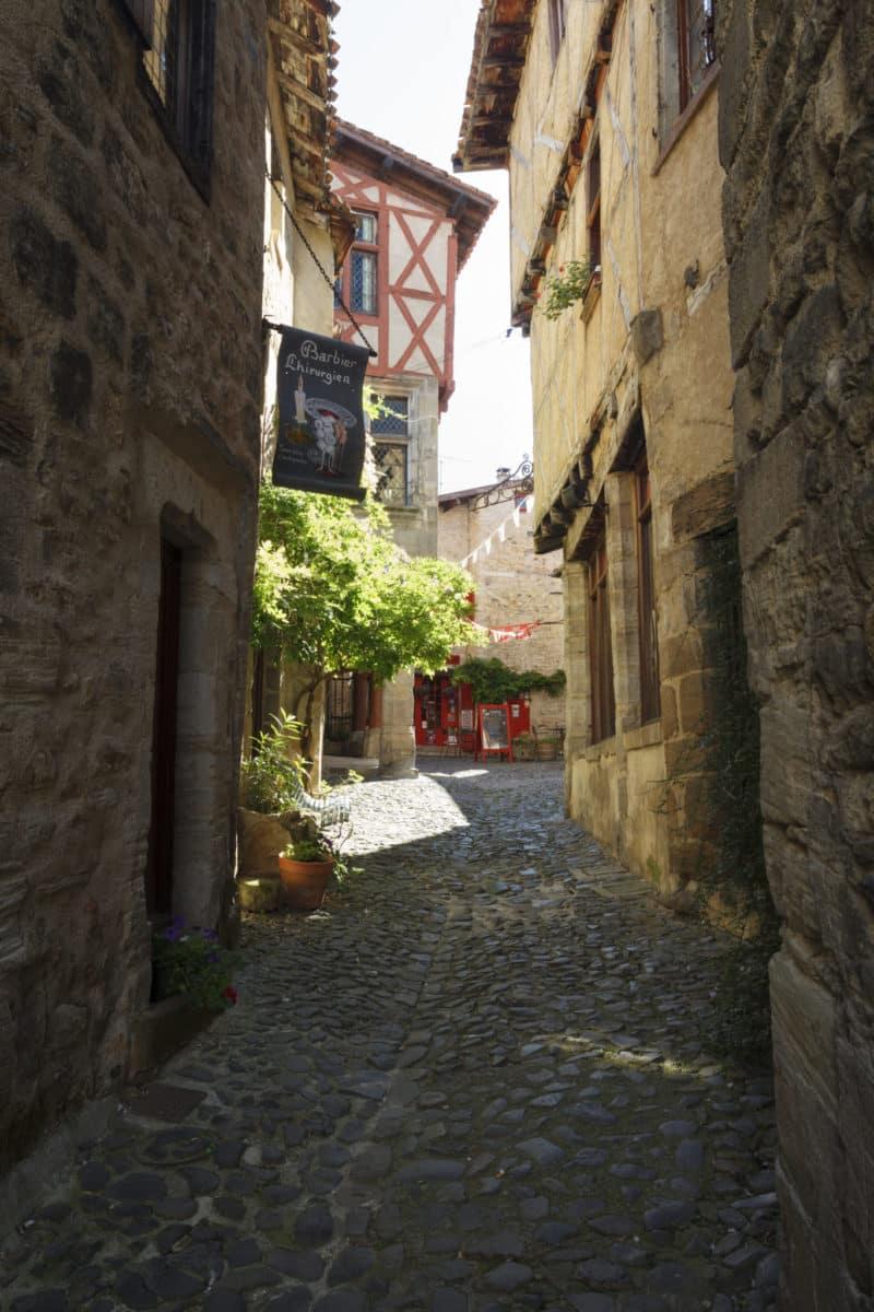 Vue des ruelles dans le quartier médiéval de Billom