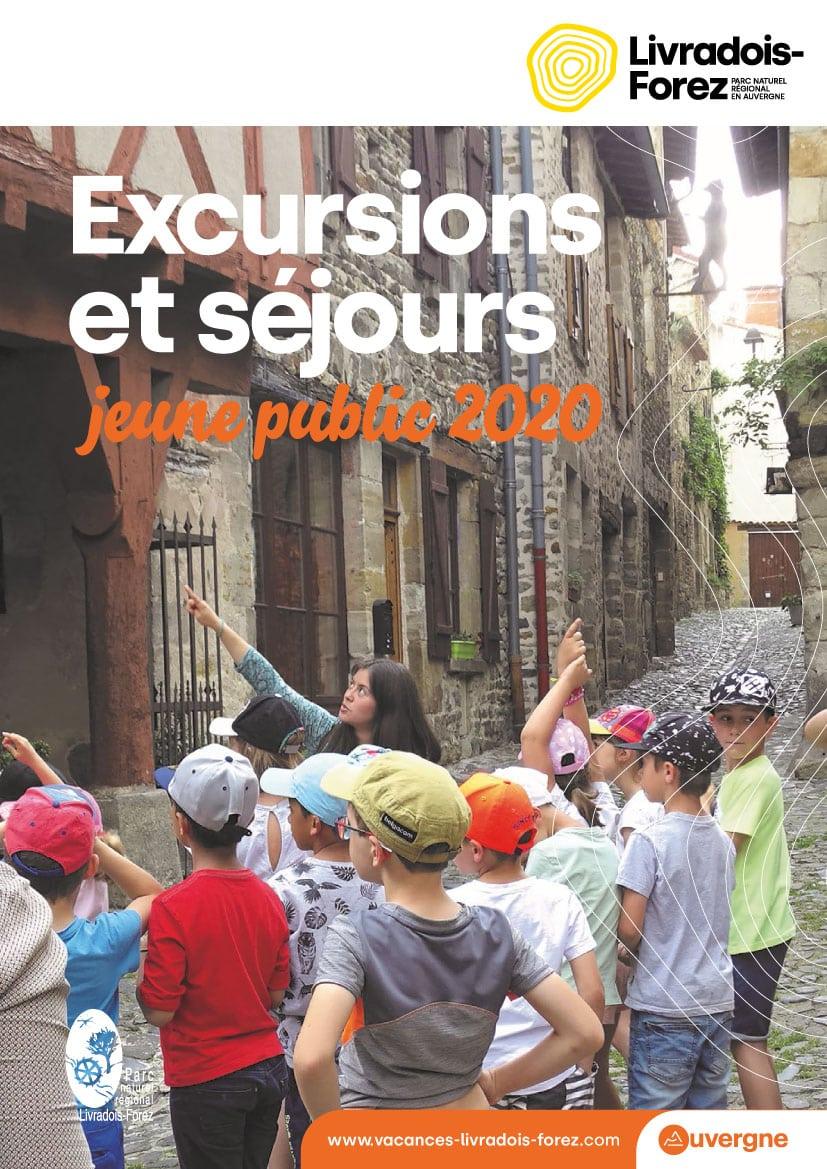 Excursions et séjours jeune public 2020