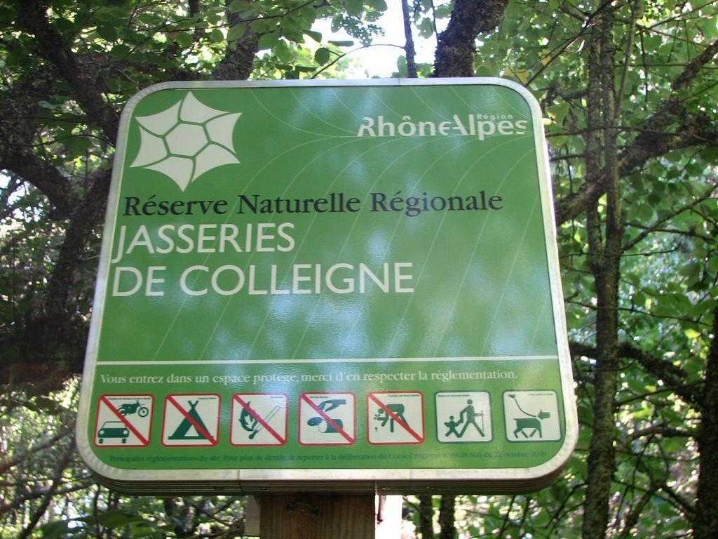 Réserve naturelle régionale de Colleigne