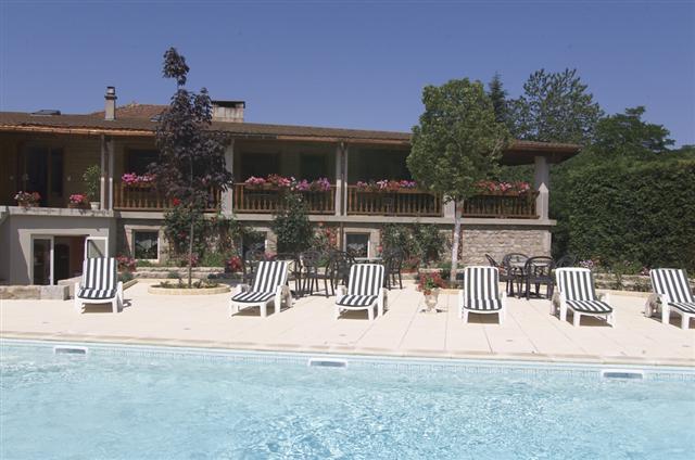 Chalets Beaudoux piscine