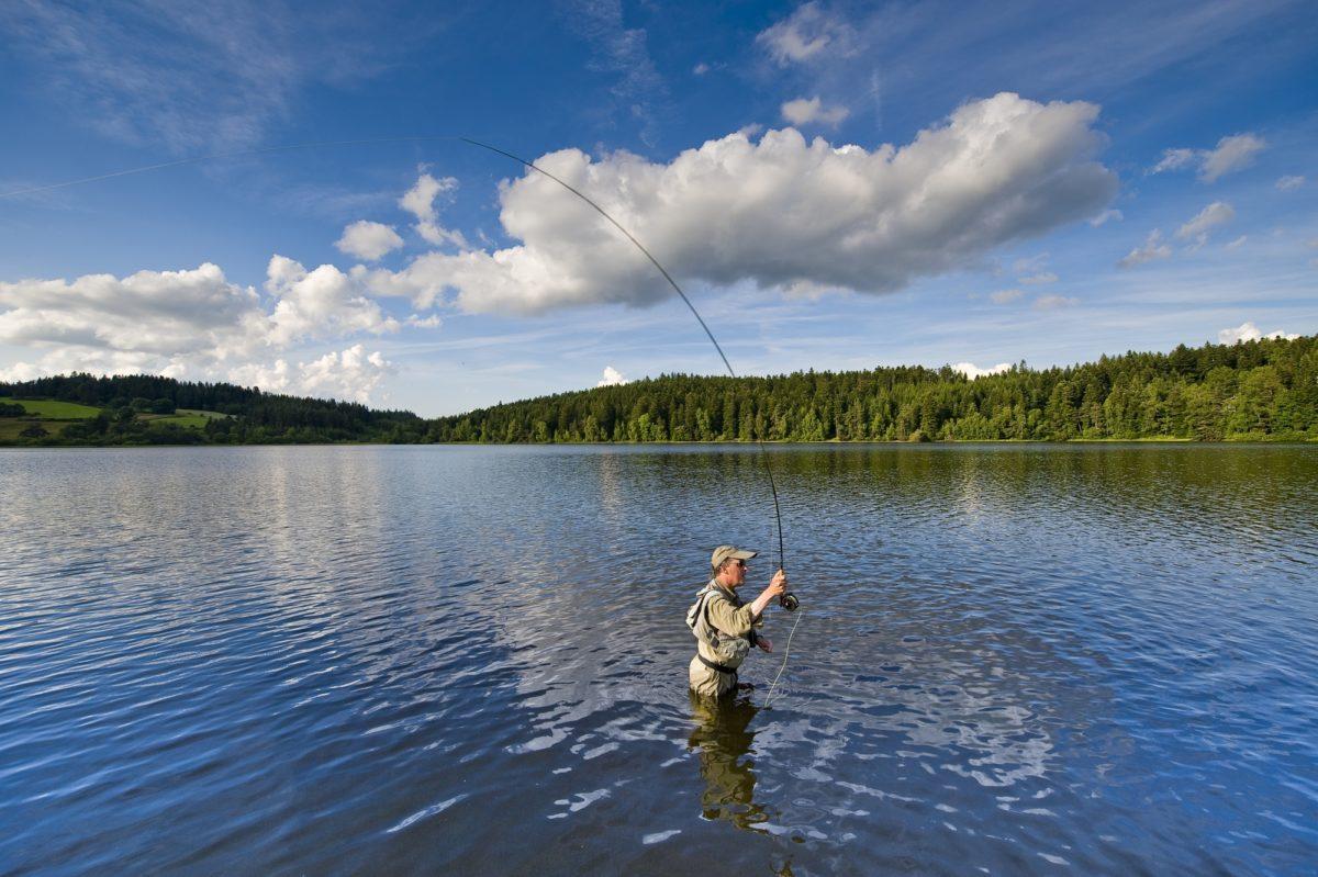 Pêche A la Mouche Au Lac de Malaguet