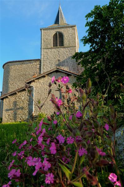 Eglise vue de derrière