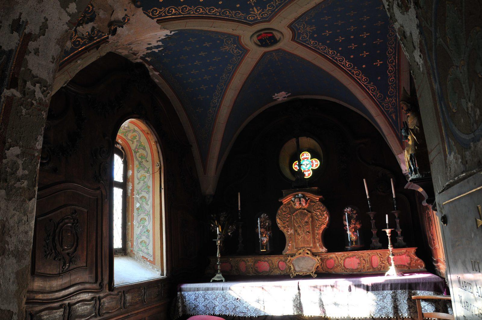 Mobilier, Eglise Saint-Maurice d'Usson