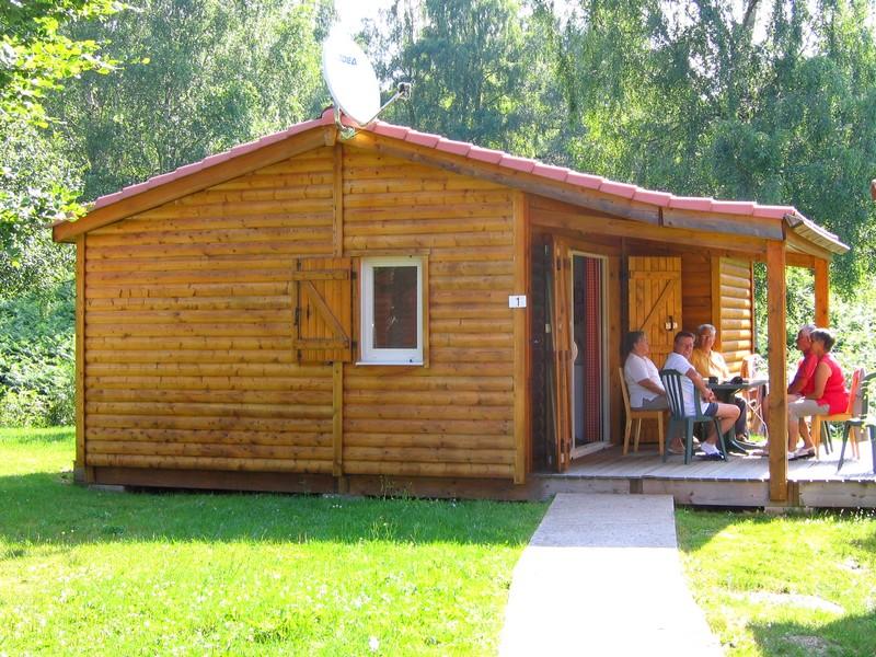 location vacances de chalets au camping