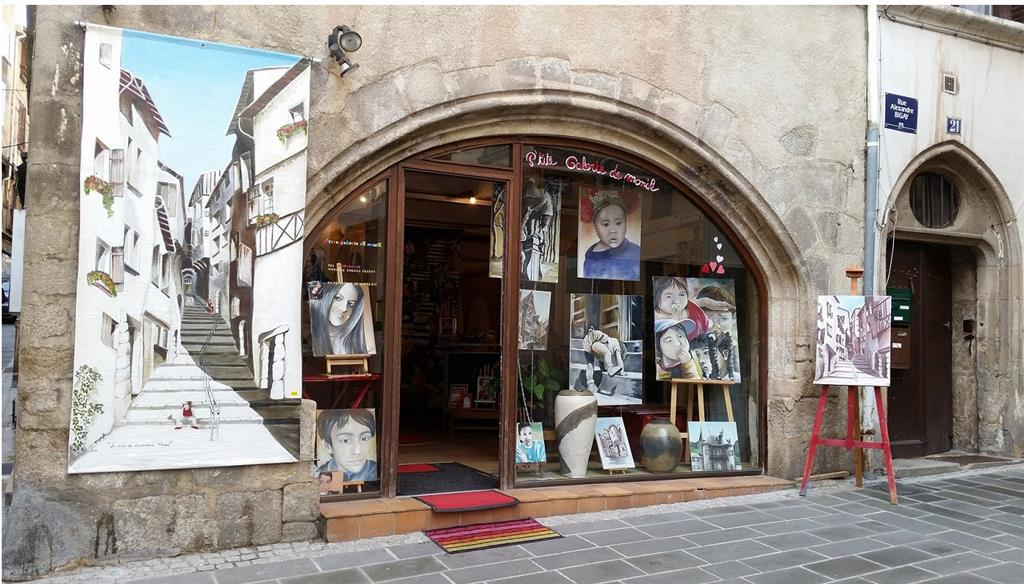 GalerieArt01 – vitrine principale