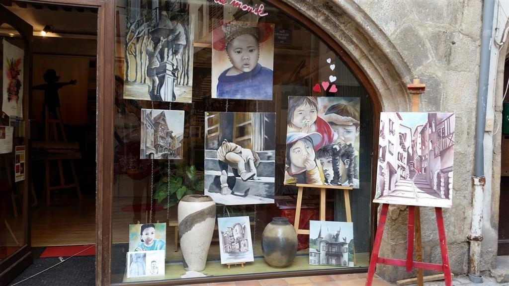 GalerieArt03 – Portrais et rues de Thiers
