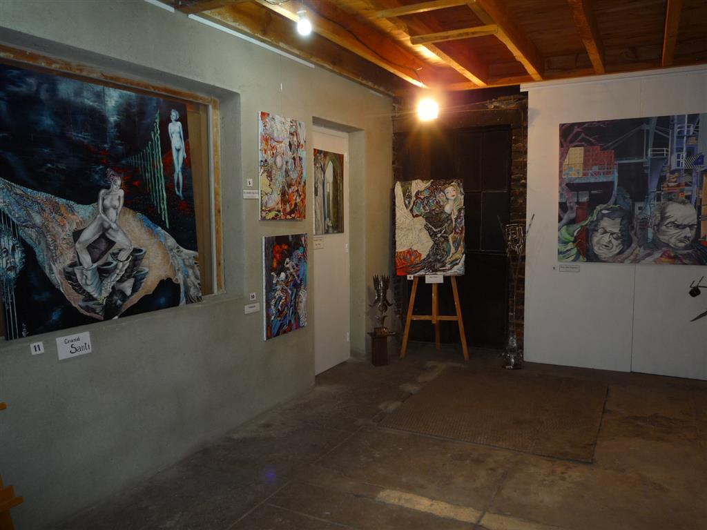 7 Espace des arts Escalier