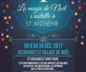 Magie de noel à St-Anthème 2017
