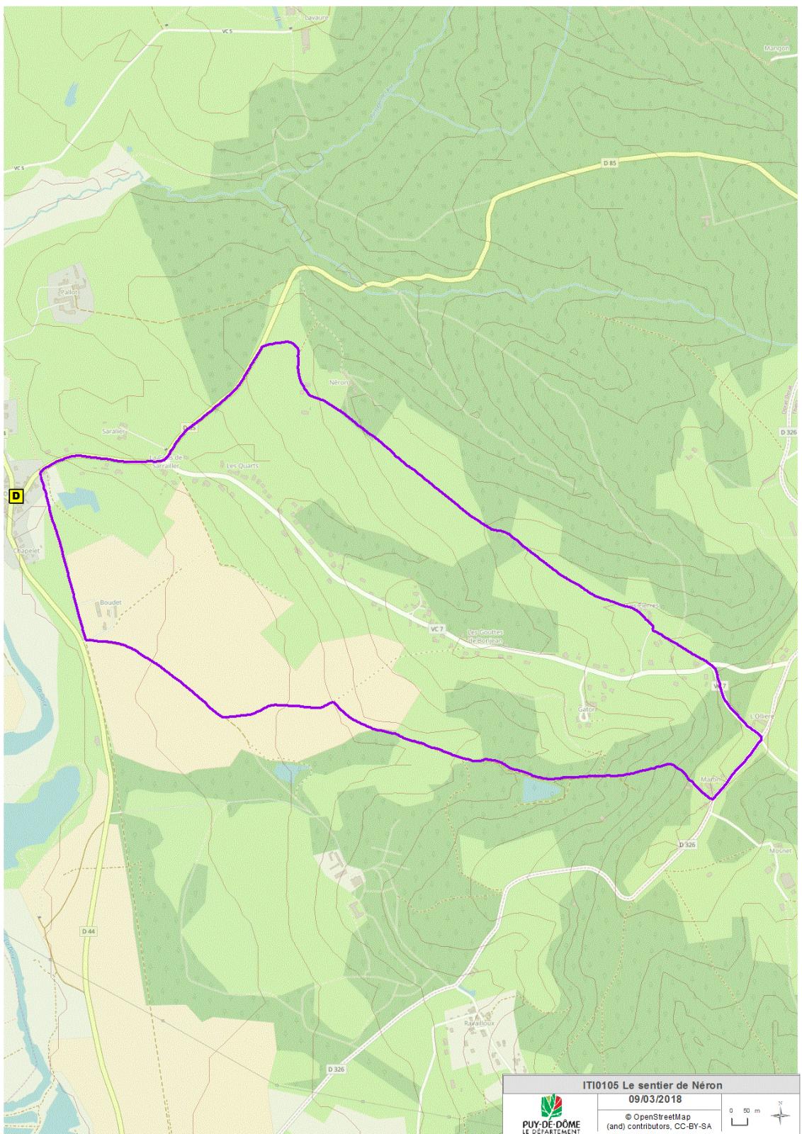 Sentier de Néron