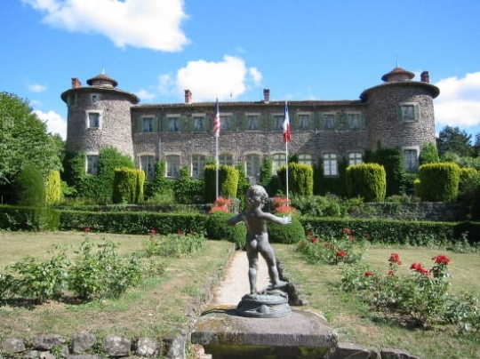 château de Chavaniac La Fayette