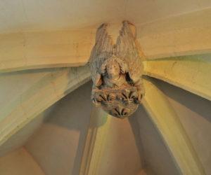 clef de voûte ancienne chapelle du monastère