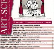 """8ème Festival de théâtre amateur """"Art-Scène au Pays de Courpière"""""""
