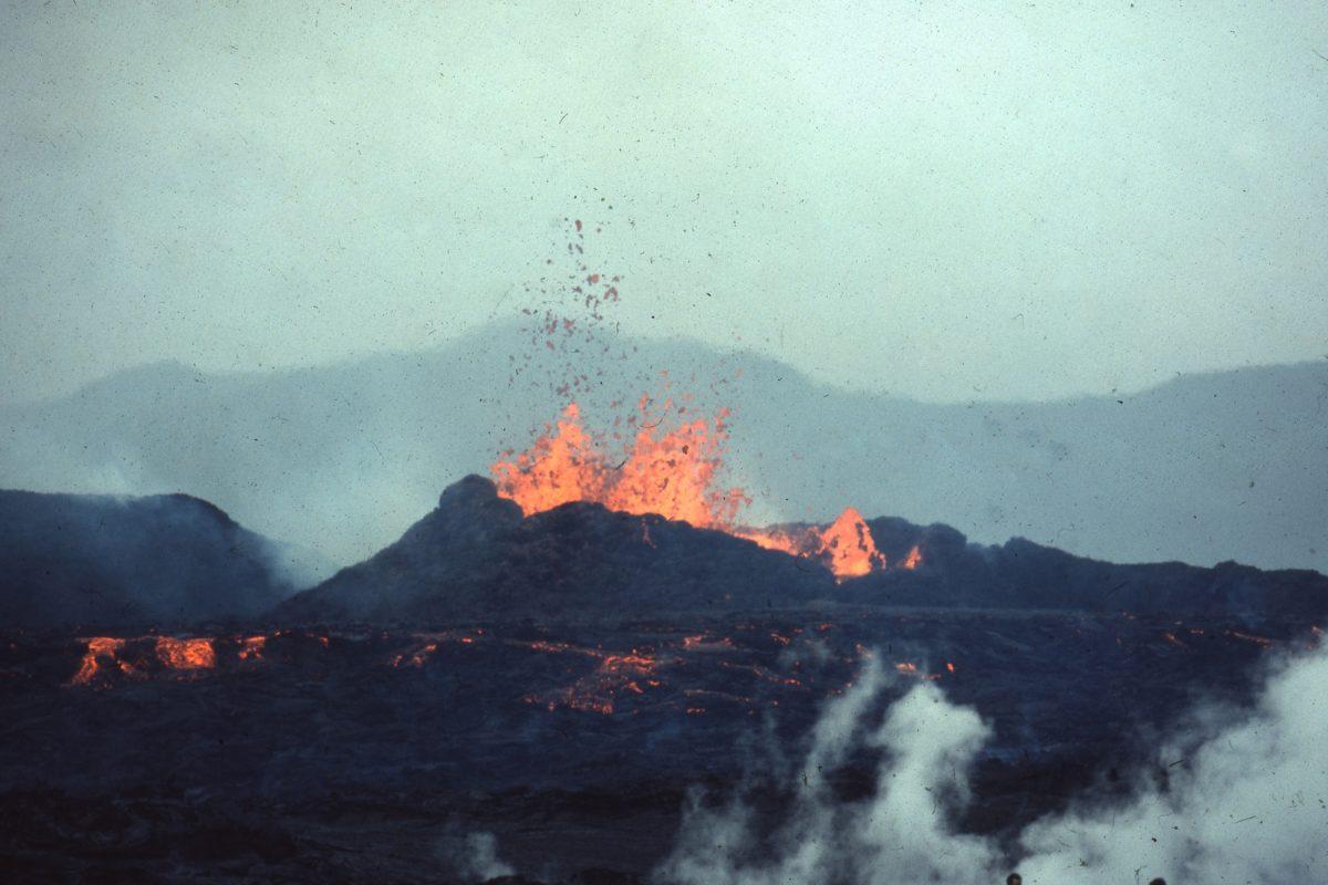 Ce que fut le volcan de Mauzun