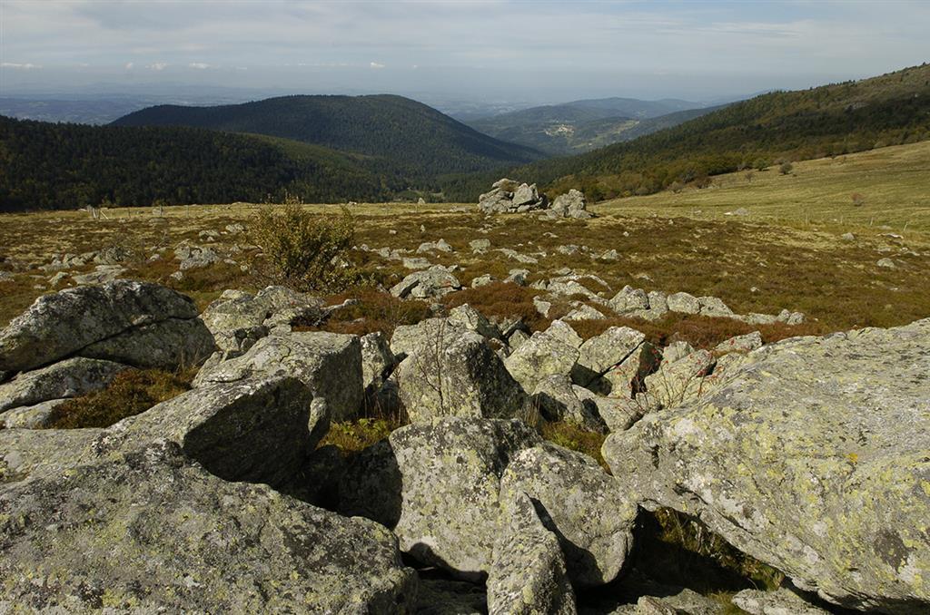 La vallée du Fossat – Les rochers de la Pause