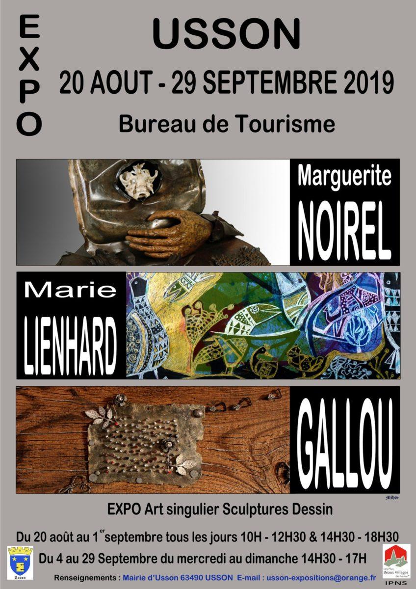 affiche Gallou – Lienhard – Noirel