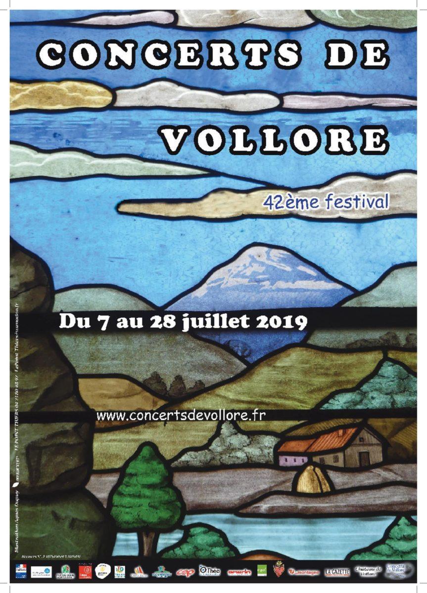 43ème Festival Concerts de Vollore