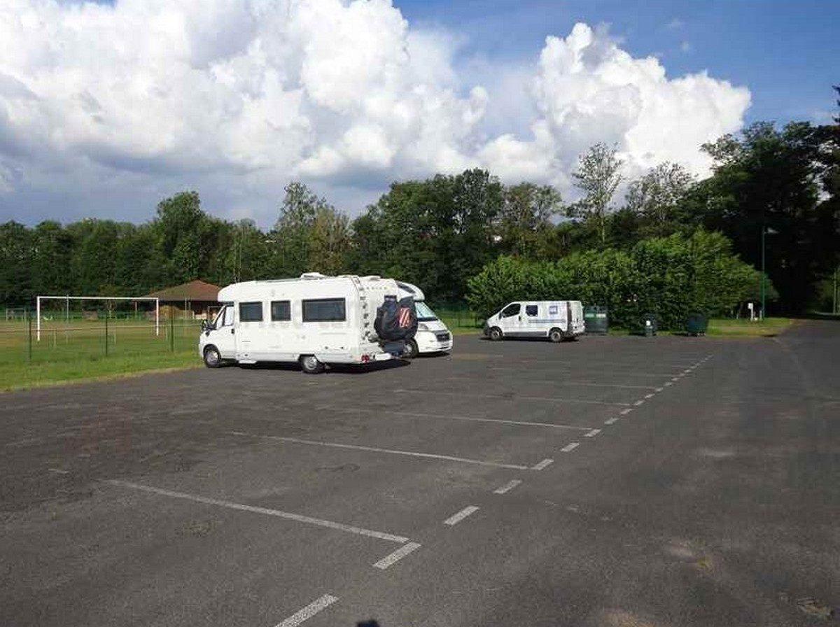 Aire de Camping car Arlanc