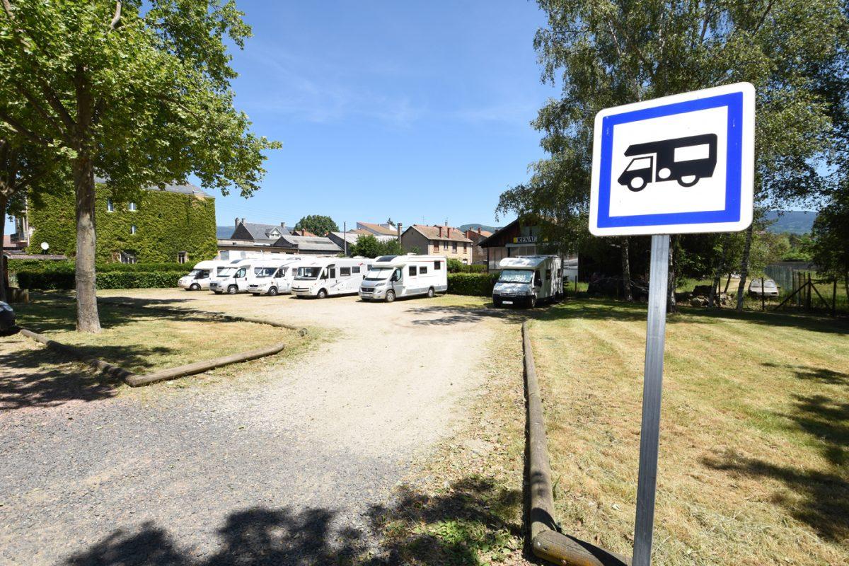 Aire de Camping car – Ambert