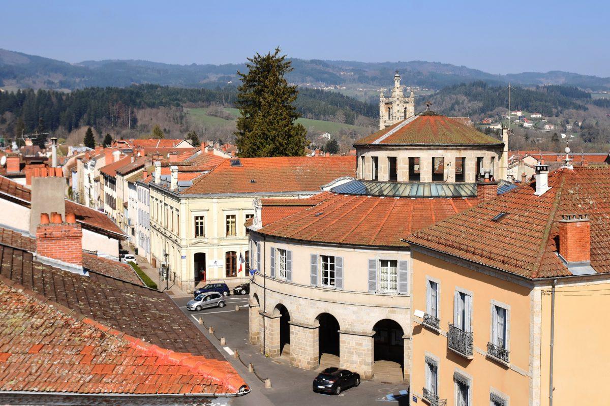 Mairie ronde Ambert