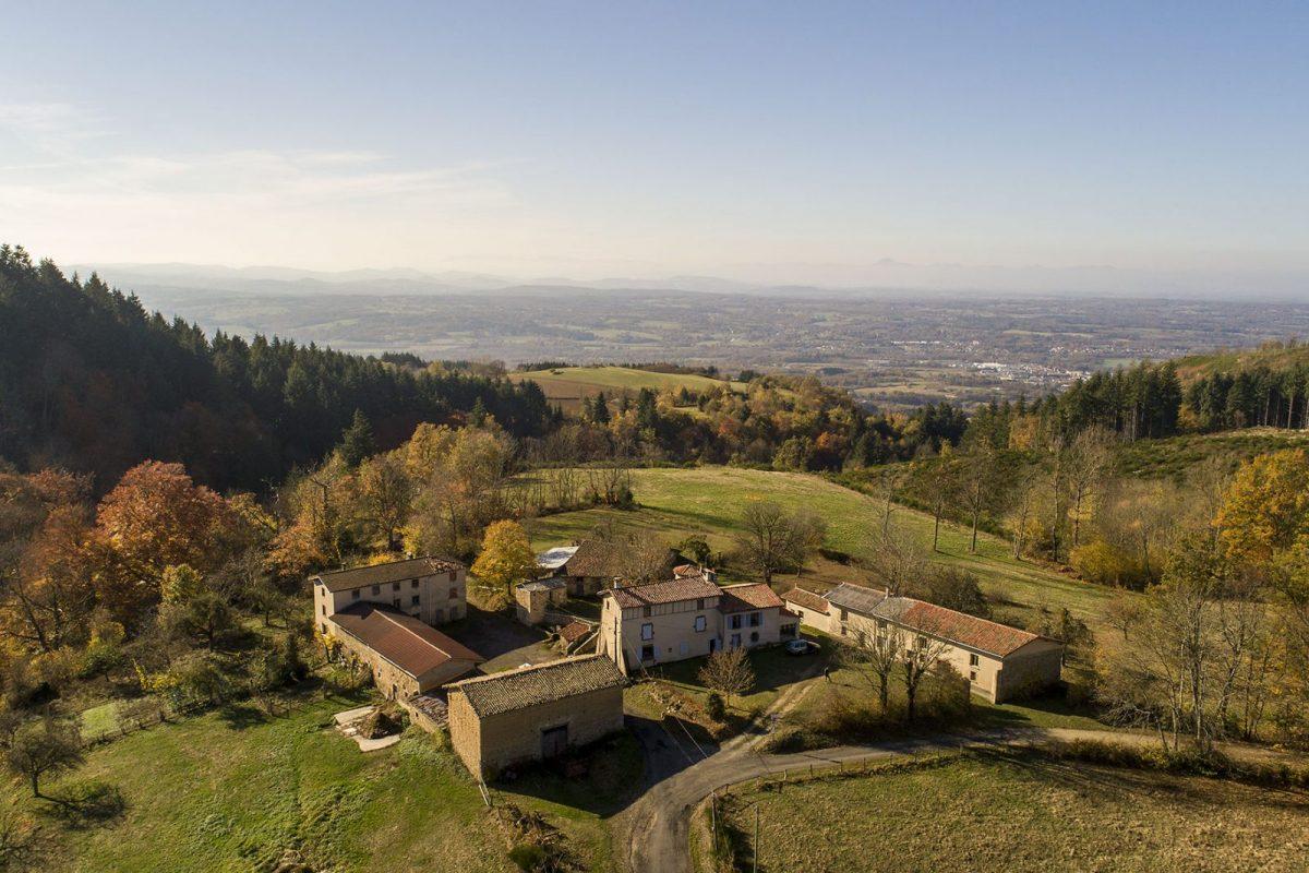 Domaine du Faux Martel : la tour