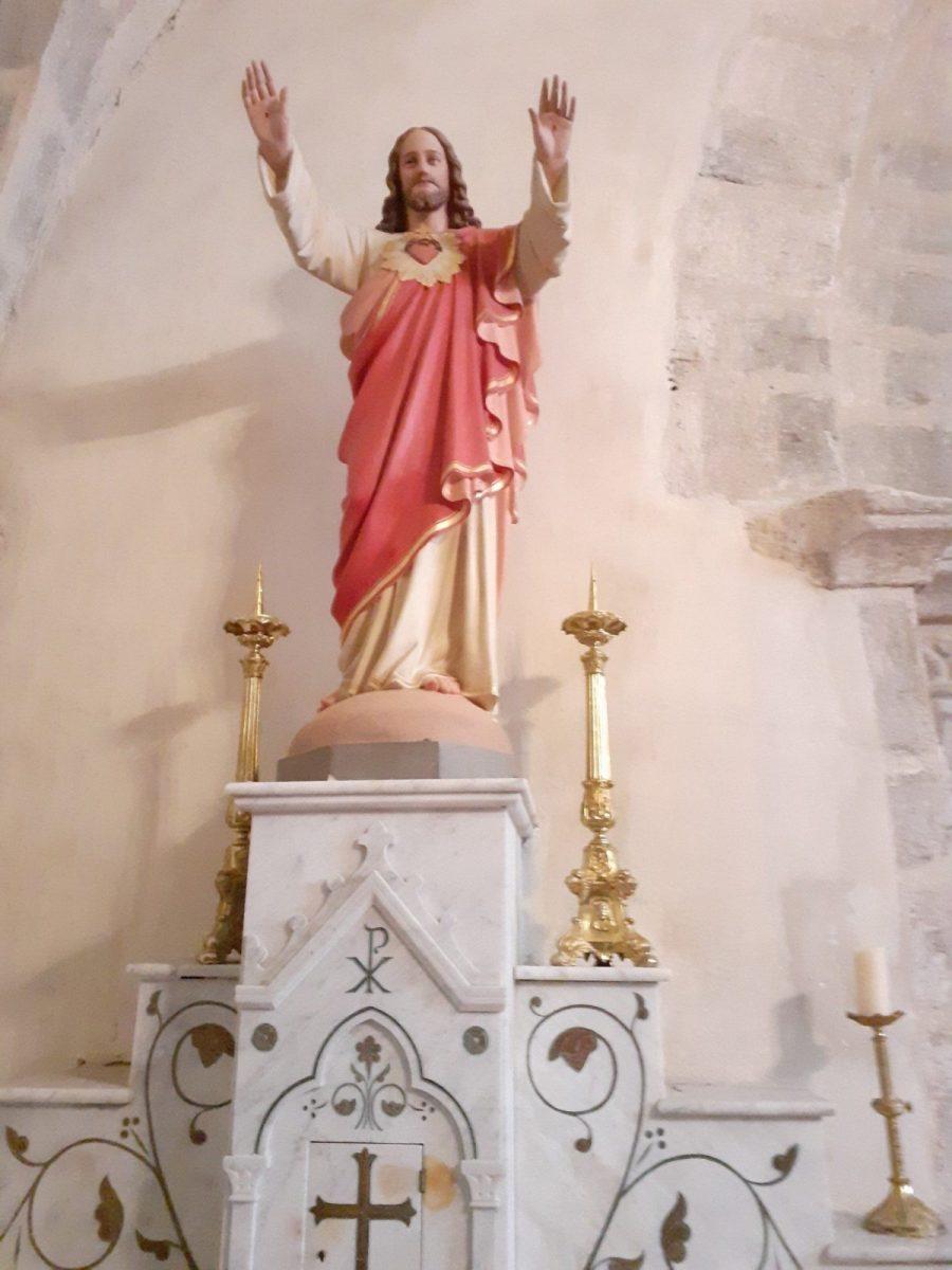 PCU_ Eglise St-Etienne_ statue