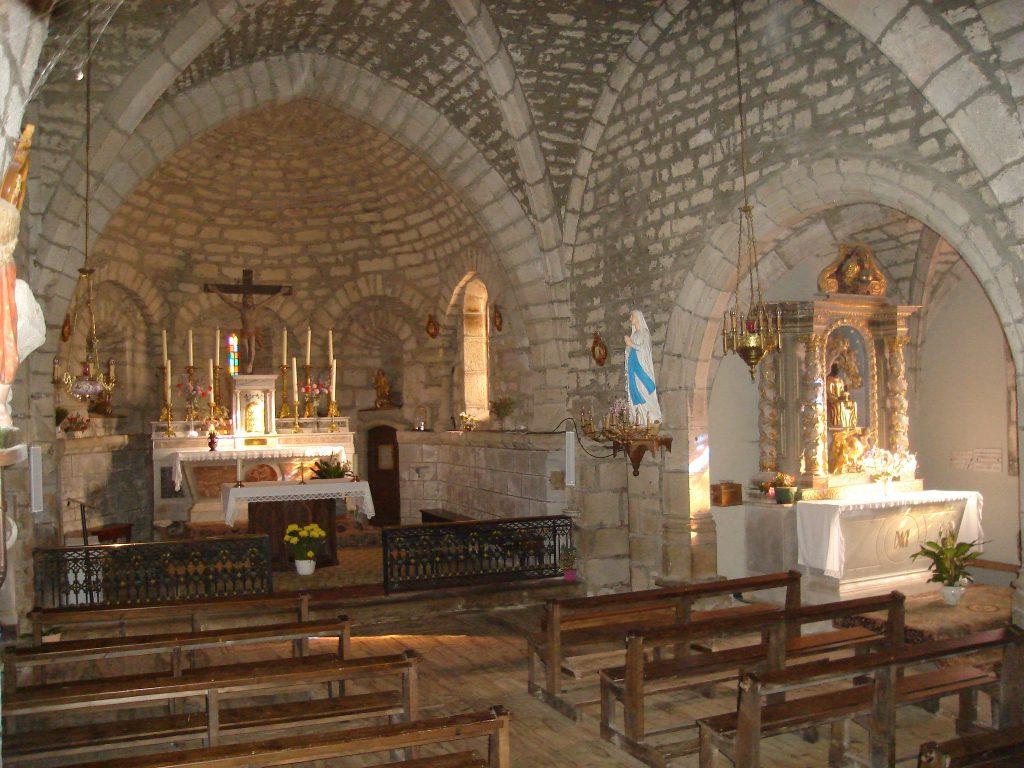 PCU_église Ntre-Dame de l'Assomption_Chœur, nef et chapelle de la Vierge