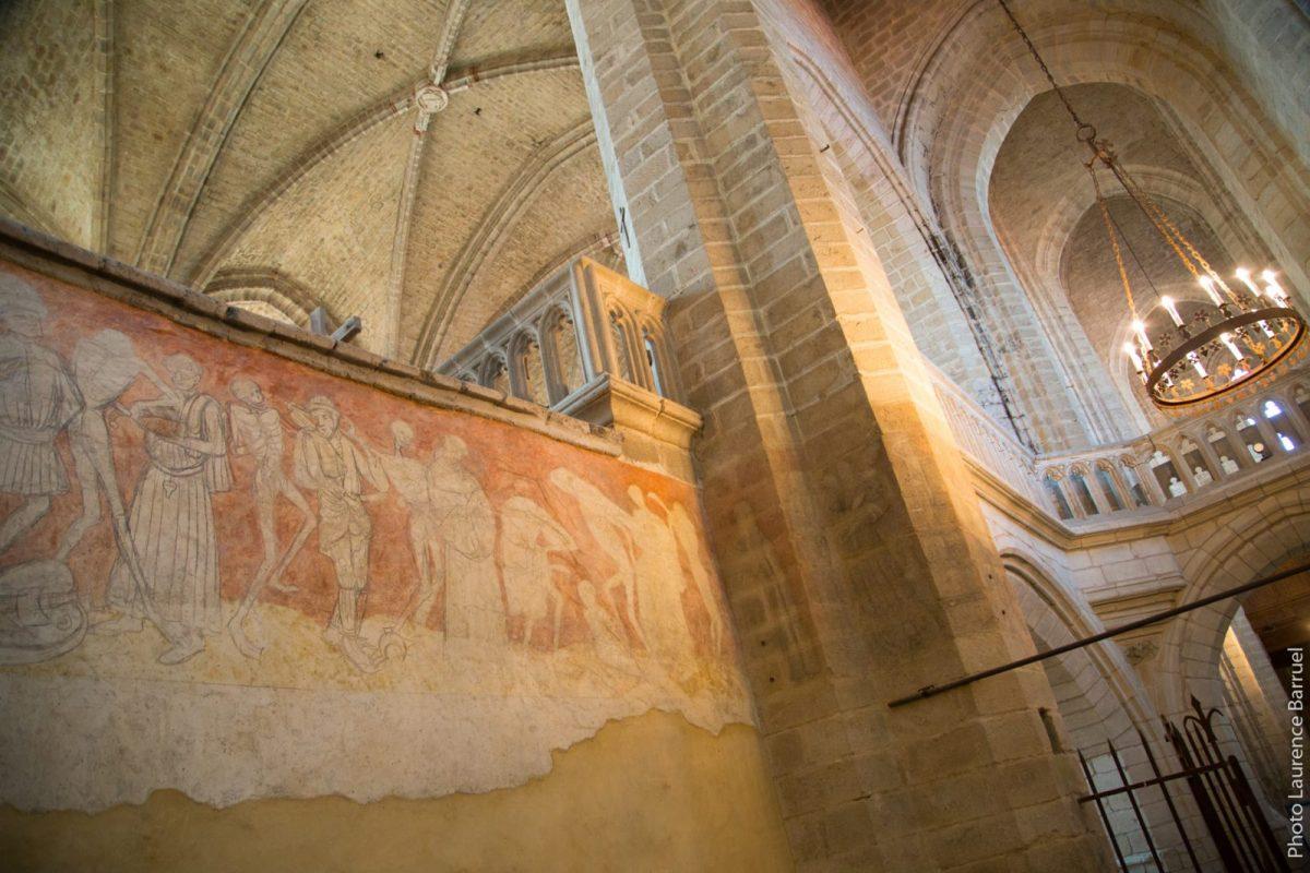 PCU_Abbaye de La Chaise-Dieu_Abbatiale St-Robert_Fresque de la Danse macabre