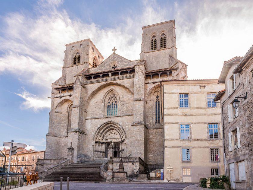 EVE_Parcours muséographique de l'abbaye de La Chaise-Dieu_Abbatiale st Robert