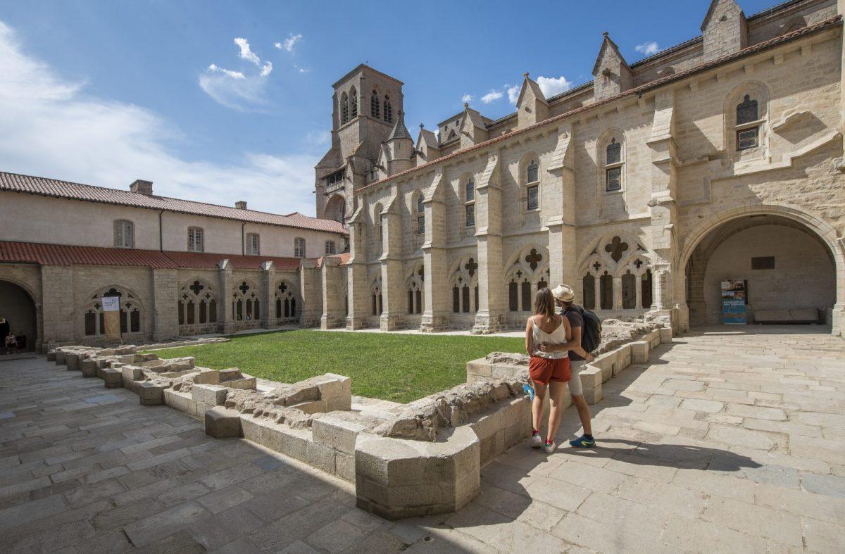 EVE_Parcours muséographique de l'abbaye de La Chaise-Dieu_Cloître