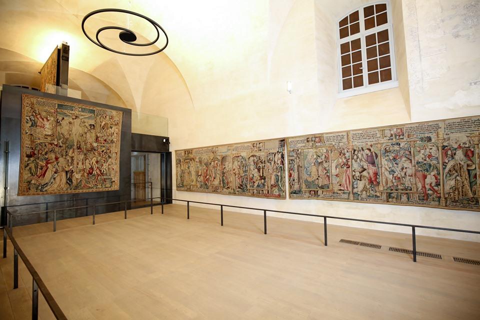 EVE_Parcours muséographique de l'abbaye de La Chaise-Dieu_espace des tapisseries