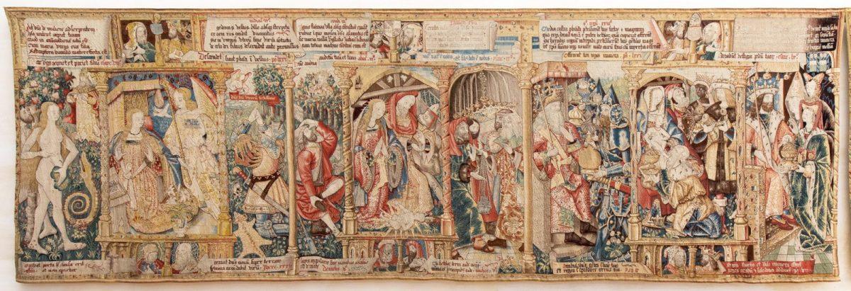 EVE_Parcours muséographique de l'abbaye de La Chaise-Dieu_Tapisserie