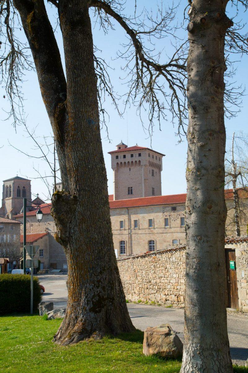 EVE_Tour Clementine _Abbaye de La Chaise-Dieu_vue depuis le jardin public