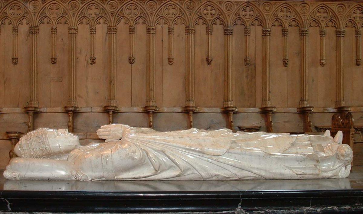 EVE_Visite de l'église abbatiale de La Chaise-Dieu_tombeau du Pape Clément VI abbatiale de La Chaise-Dieu