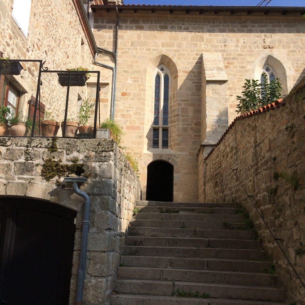 EVE_Visite du bourg médiéval _entrée Chapelle des Pénitents