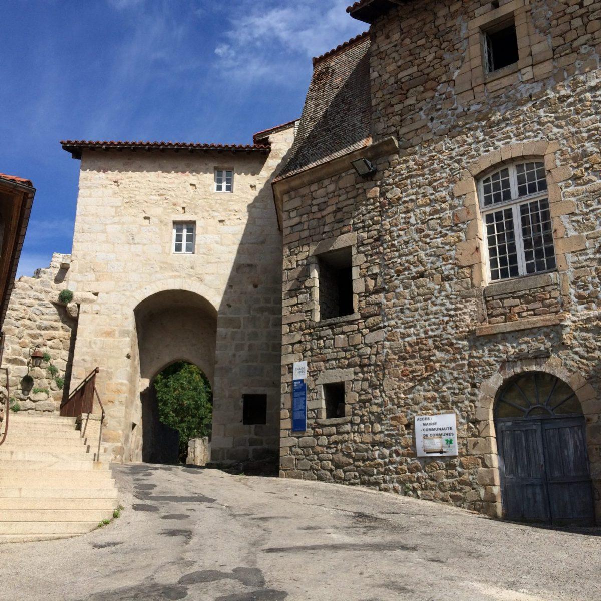 EVE_Visite du bourg médiéval _Porte du For
