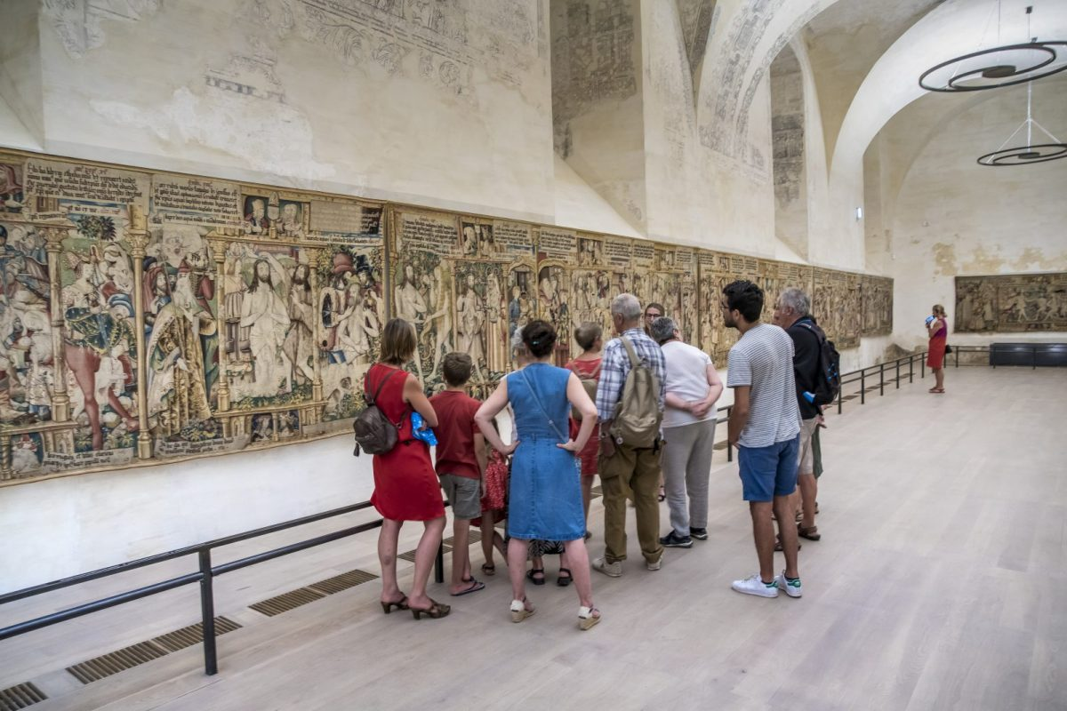 EVE_Visite Thématique de L'Abbaye de la Chaise-Dieu_espace des tapisseries